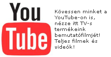 Minden filmünk a Youtube-on is!