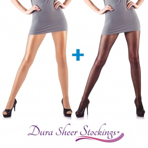 Dura Sheer Stocking 1+1