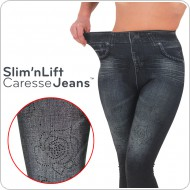 Slim N Lift Caresse Jeans fekete 1 db