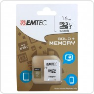 Micro SD kártya + adapter 16 GB